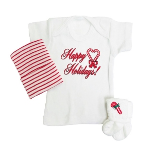 First Christmas Newborn Baby T-shirt Set
