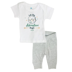 Let the Adventure Begin Newborn Outfit