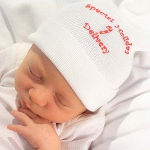 Special Holiday Delivery Baby Hat & Sock Set #BCSK-620SHD